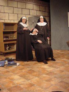 Tre nunnor