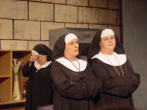 Pinsamt läge för nunnorna